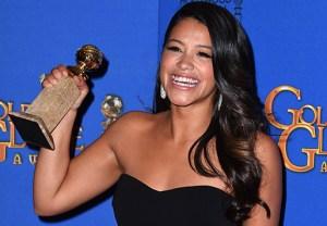 Jane the Virgin Gina Rodriguez Golden Globes 2015