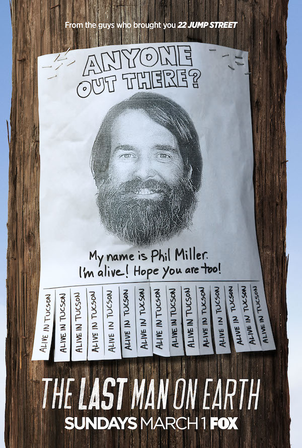 The Last Man on Earth Key Art Poster Will Forte