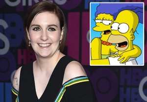Lena Dunham The Simpsons