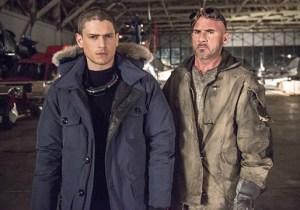 The Flash Season 1 Spoilers Captain Cold Heat Wave