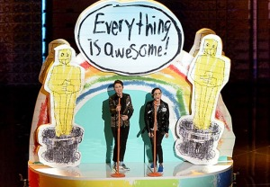 Tegan Sara Oscar Performance