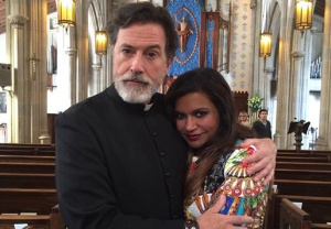 Stephen Colbert Mindy Project