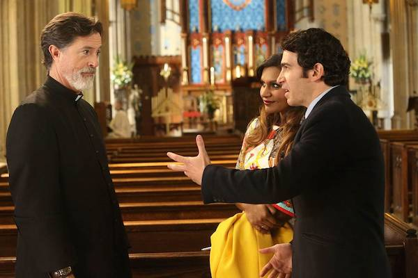 Stephen Colbert Mindy Project Photos