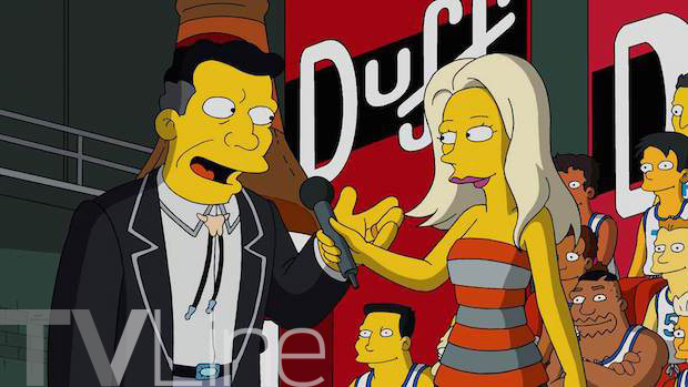 Cat Deeley The Simpsons