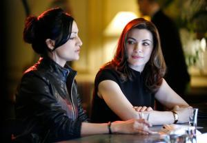 Julianna Margulies and Archie Panjabi The Good Wife Season 6