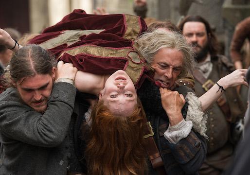 Outlander Geillis Knows Claire's Secret