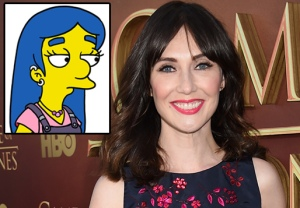 The Simpsons Carice van Houten
