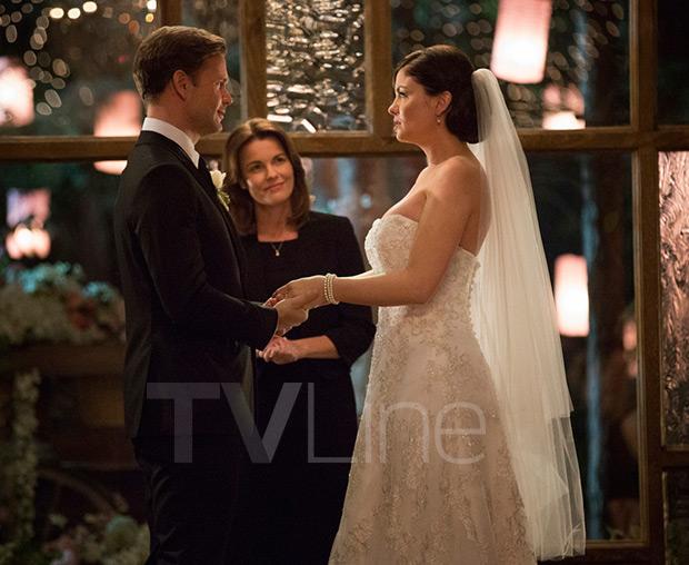 Vampire Diaries Wedding Photo