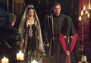 Arrow Season 3 Wedding Oliver/Nyssa