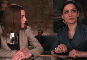 Good Wife Alicia Kalinda Finale Scene