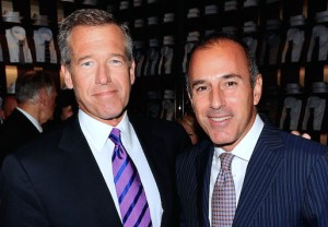 Brian Williams Matt Lauer