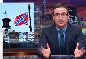 John Oliver Confederate Flag