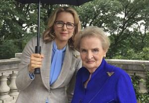Madam Secretary Madeleine Albright Cast