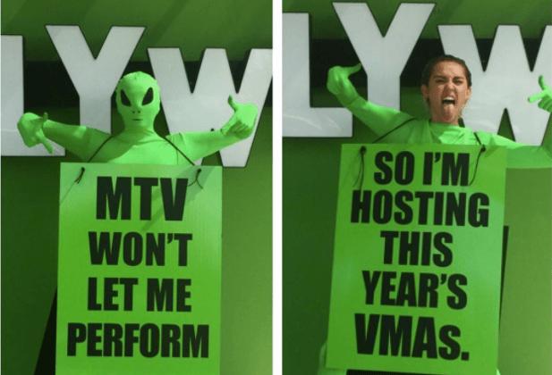 Miley Cyrus 2015 MTV VMAs Host