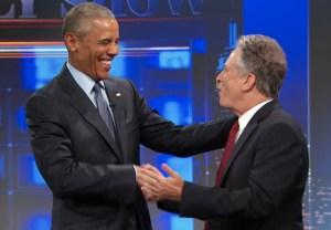 Obama Daily Show Video