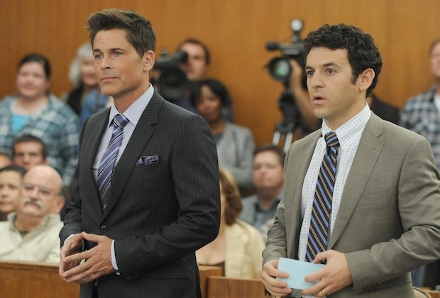 The Grinder Preview Rob Lowe