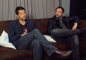 Supernatural Cast Interview