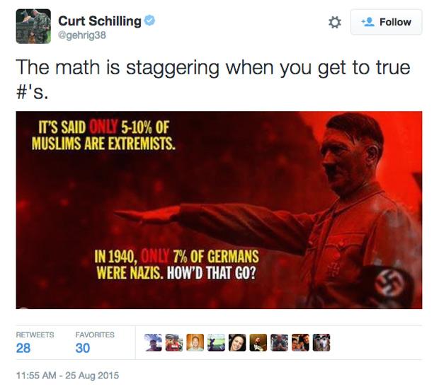 Curt Schilling Suspended ESPN