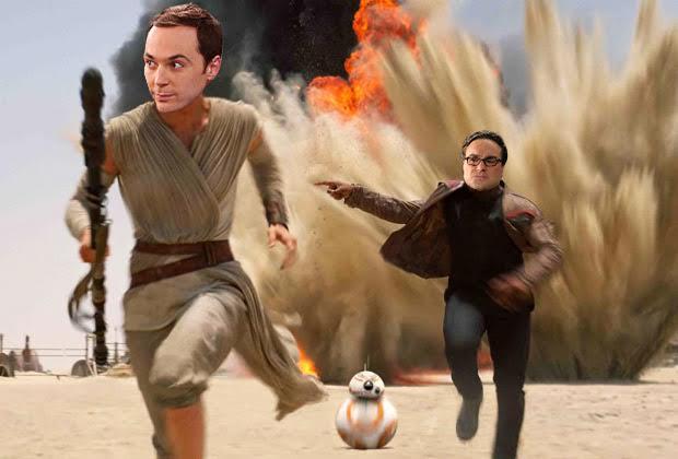 Big Bang Theory Does The Force Awakens