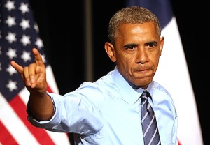 Obama Running Wild