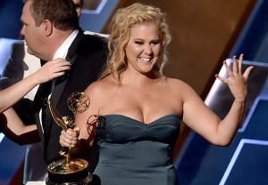 Inside Amy Schumer Emmys 2015