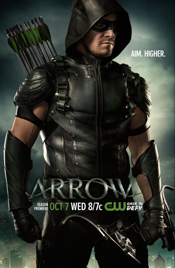 Arrow Season 4 Poster