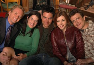 How I Met Your Mother Season 1 Cast Photo