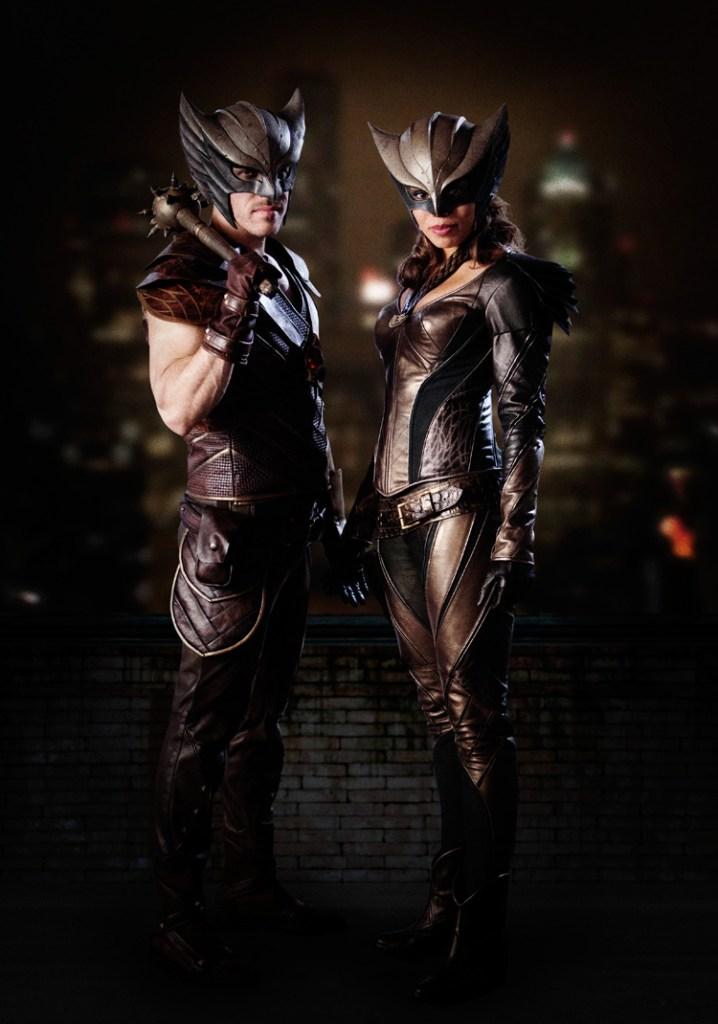 Legends of Tomorrow Hawkman Hawkgirl