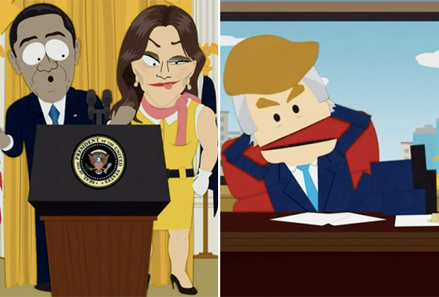 South Park Trump Jenner
