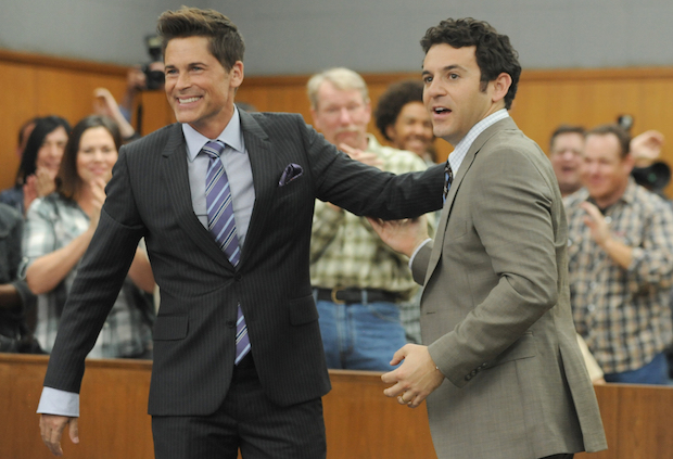 the-grinder-premiere-recap-rob-lowe-fred-savage-comedy
