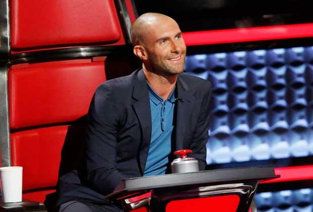 Adam Levine Bald