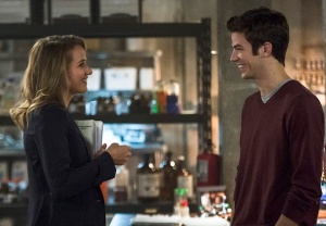 The Flash Barry Patty Romance