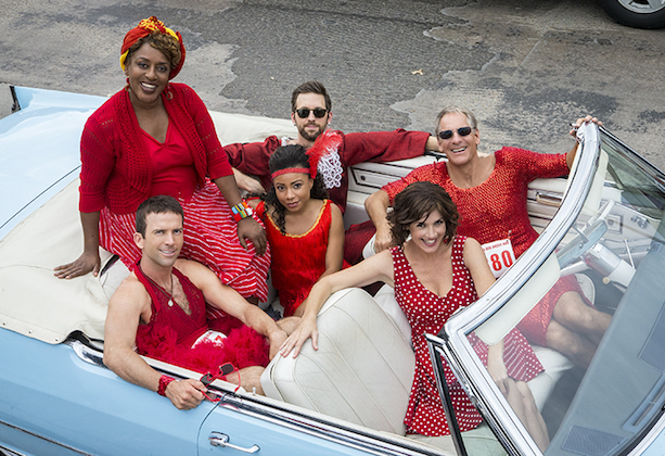 NCIS New Orleans Red Dress Run