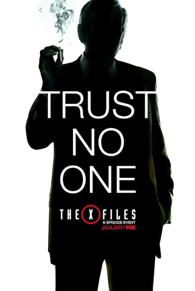 X-Files Smoking Man Poster