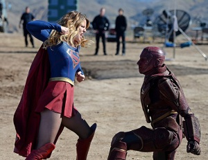 Supergirl Red Tornado