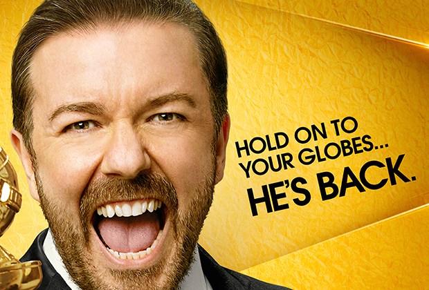 Golden Globes 2016 Poster Ricky Gervais