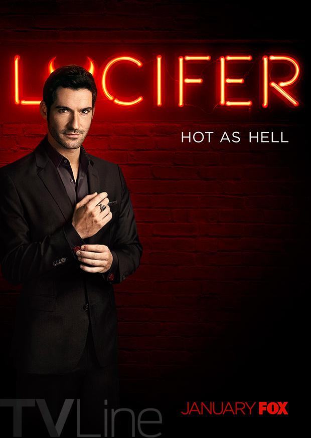 Lucifer Poster Fox