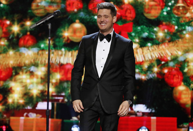 Michael Buble Christmas Hollywood X-Files