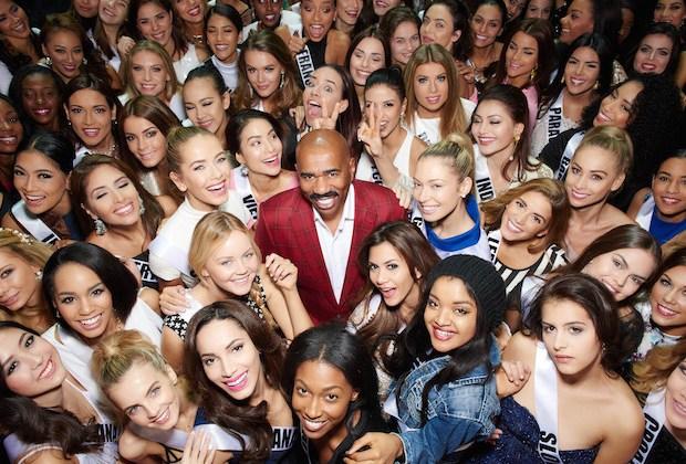 Steve Harvey Miss Universe 2016 Return