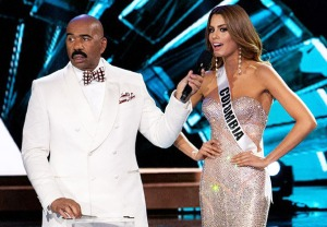 Steve Harvey Miss Colombia