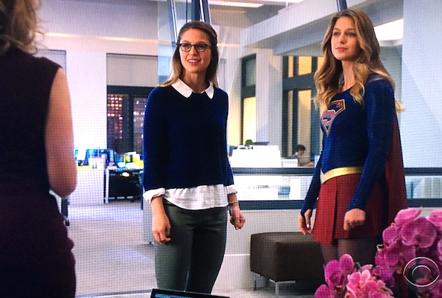 Supergirl Kara Visit Cat