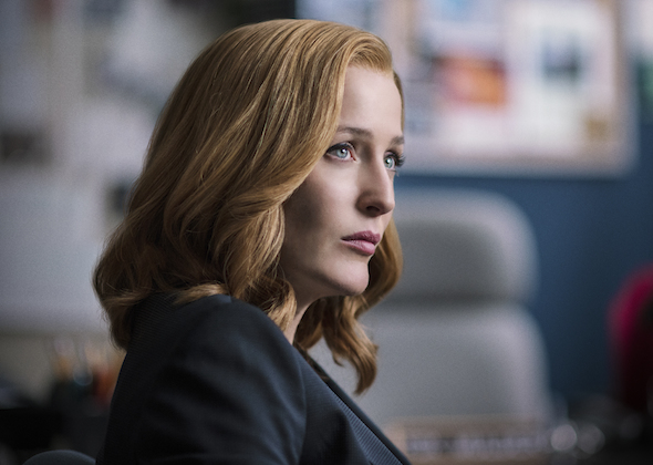 X-Files Ratings Premiere