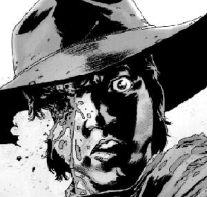 The Walking Dead Carl Eye