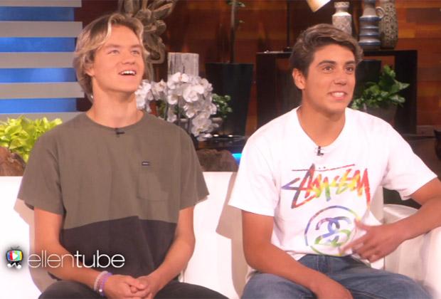 Video Damn Daniel On Ellen Watch Daniel Josh Interview Tvline