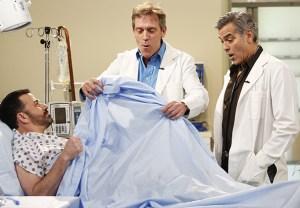 George Clooney Hugh Laurie