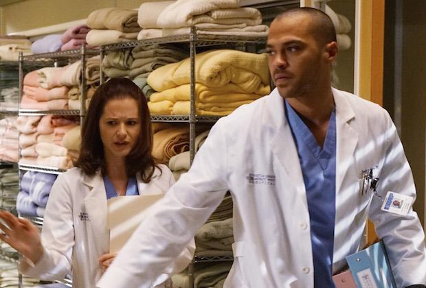 Grey's Anatomy Season 12 April and Jackson Divorce Papers
