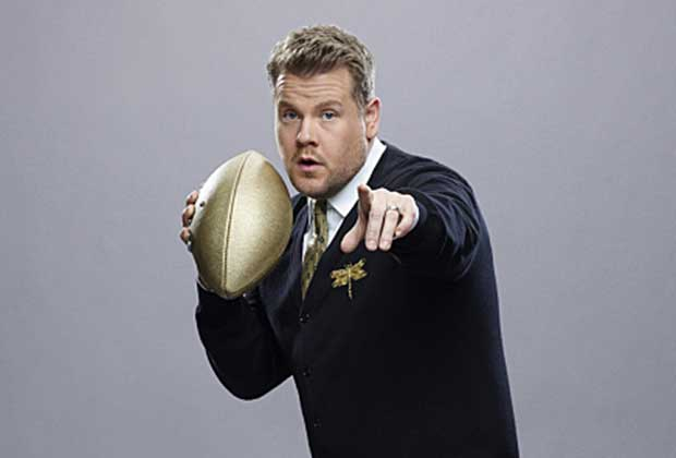 James Corden Super Bowl