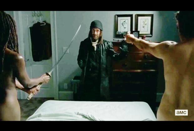 The Walking Dead Nude Scene