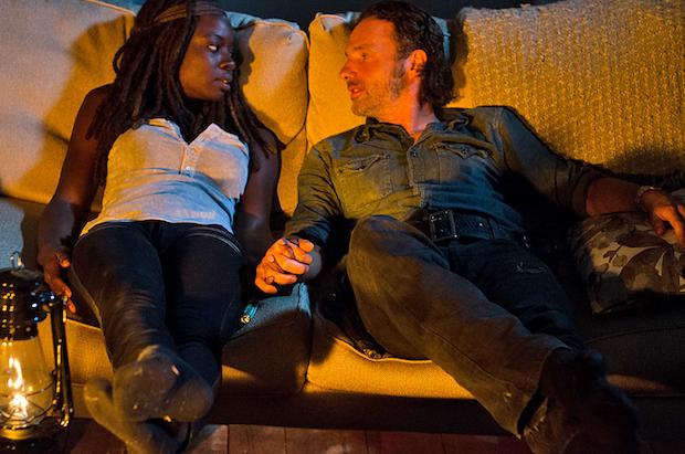Rick and Michonne Romance
