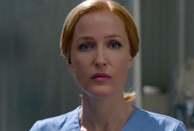 X Files Finale Alien Scully